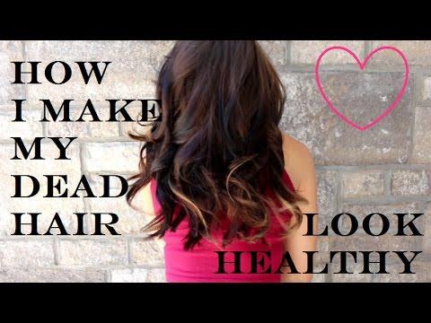 7 TIPS To Make Dead Hair Look Healthy Again!