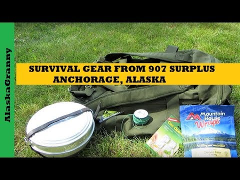 Survival Gear From 907 Surplus Store Anchorage