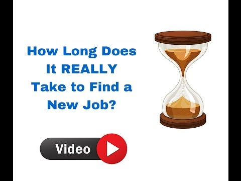 How Long Does It REALLY Take to Find a New Job?