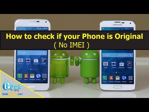 How to Spot a Fake/Clone Smartphone easily ( No IMEI )
