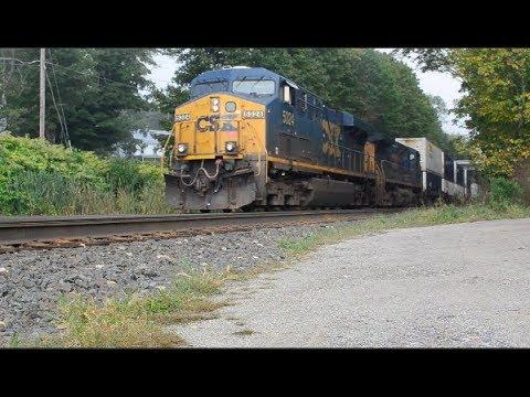 [HD 1080p] CSX Berkshire Freights at Washington, MA and Hinsdale, MA
