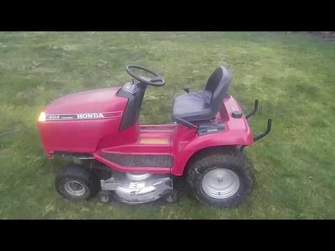 Honda 4514 riding mower