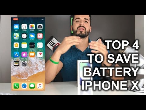 TOP 4 Ways to Save Battery on your iPhone X