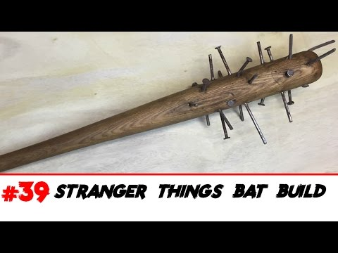 Stranger Things Prop Build Demogorgon Bat
