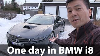 One day in BMW i8