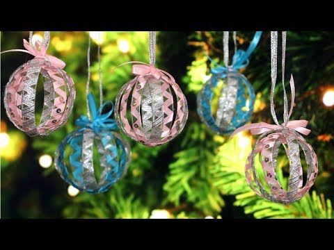 DIY Christmas Tree Ornaments | Christmas Decorations from Plastic Bottle