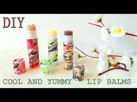 All Natural Lip Balms DIY - Cool and Yummy Balm| by Fluffy Hedgehog