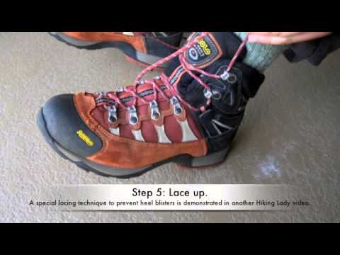 Preventing Blisters when Hiking