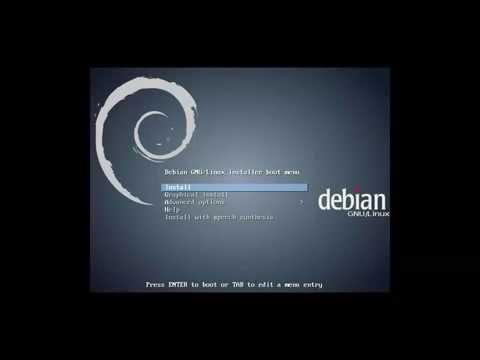 """Debian 8 """"Jessie"""" Beta-2 amd64. KDE Desktop. Graphical install."""