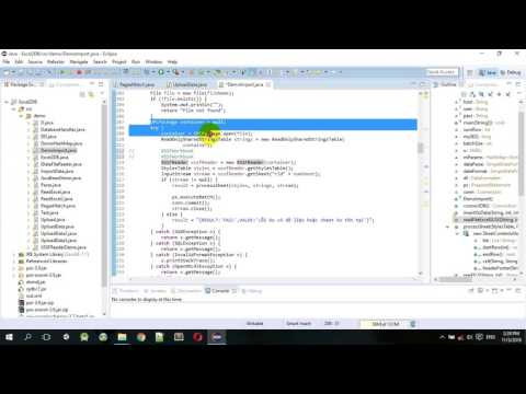 Tutorial - How to read large excel file in java