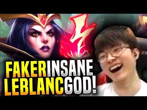 Faker Makes the Perfect Leblanc Game! - SKT T1 Faker Picks Leblanc Mid! | SKT T1 Replays