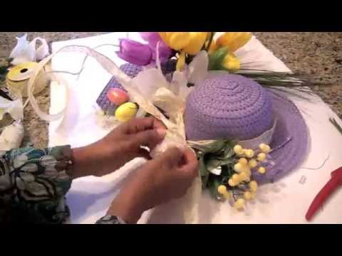 Make An Easter Bonnet Wreath