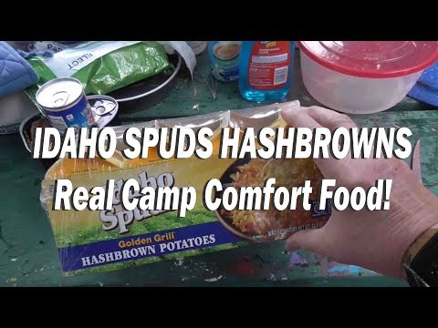HASHBROWNS OF RENOWN! Idaho Spuds Golden Grill Hashbrown Potatoes