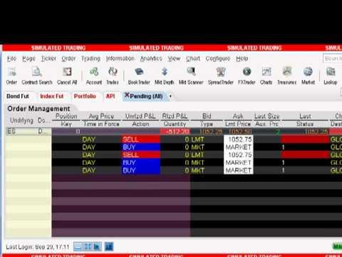 Ninjatrader to brackettrader to Interactive Brokers