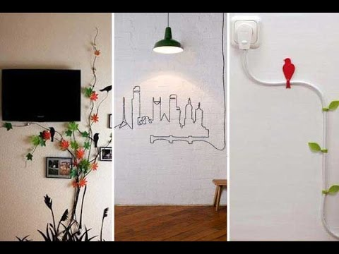28 Stunning DIY ideas to hide your room's cables & wires- Plan n Design