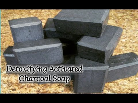 How to Make Homemade Detoxifying Activated Charcoal Facial Soap | Kiwanna's Kitchen