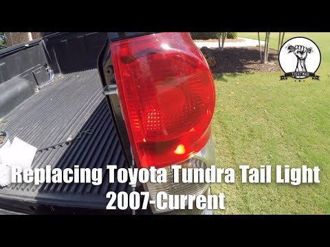 Toyota Tundra Tail Light Replacement 2007-Current