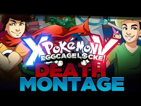 DEATH MONTAGE Pokemon XY Egglocke Cagelocke w/ MunchingOrange and aDrive