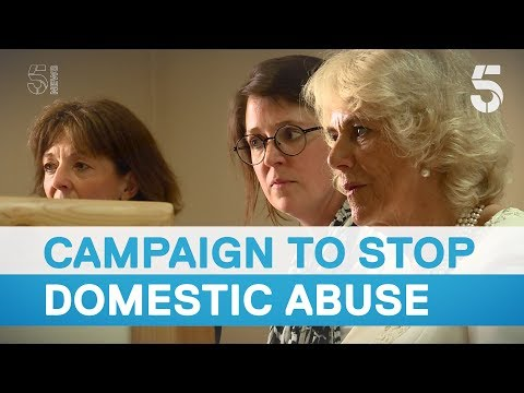 The Duchess of Cornwall's royal commitment to tackling domestic abuse - 5 News