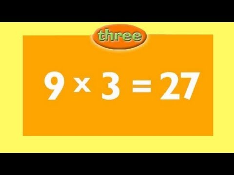 3 Times Table | Kids Multiplication Song | Children Love to Sing