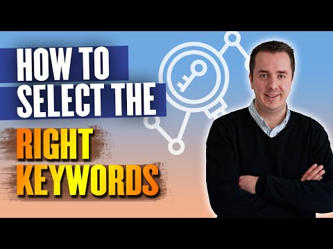 Keyword planner adwords - how to select the right keywords