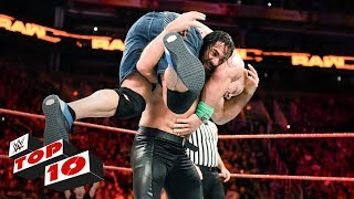 Top 10 Raw Moments Wwe Top 10 February 19 2018
