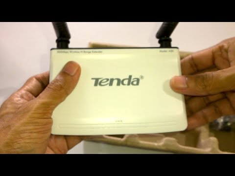 Tenda A30 WiFi Extender / Repeater - Unboxing