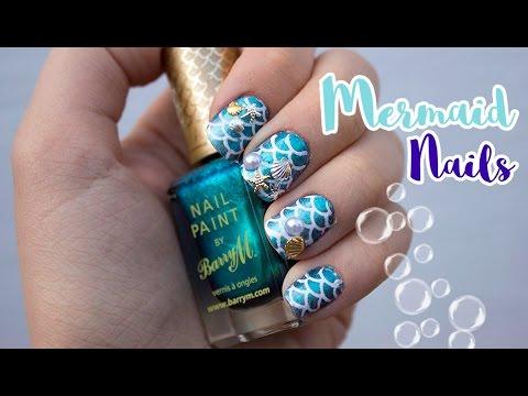 Mermaid Nail Art Tutorial   Viki Nailbeauty
