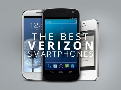 My personal opinion of the best 2014 smart phones from Verizon Wireless!