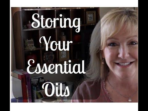 Storing Essential Oils