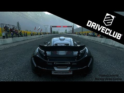 DriveClub   McLaren P1 Gameplay (PS4) - Canada Location [HD]