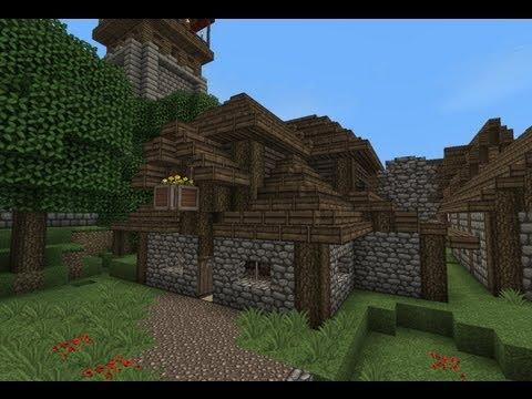 Minecraft - Gundahar Tutorials - Medieval Bakery