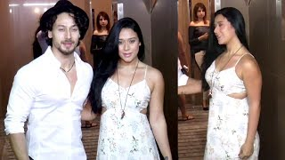 Tiger Shroff With Sister Krishna Shroff