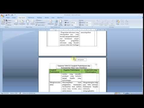 Pengaturan Layout Skripsi Unesa A5 - Part 2