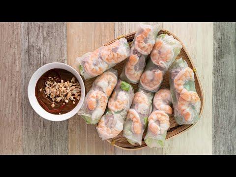 How to Make Vietnamese Spring Rolls (Goi Cuon)
