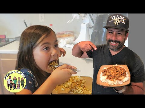 KIDS TRY CHICKEN MOLE FOR THE FIRST TIME | EASY DONA MARIA RECIPE | COOK WITH ME VLOG