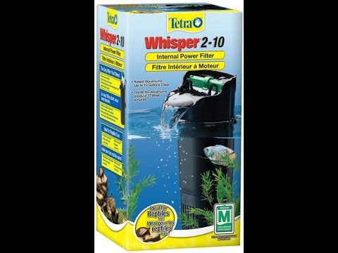 Tetra Whisper 2-10 gallon Internal Power filter