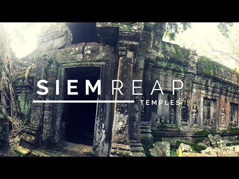 SIEM REAP - TOMB RAIDER TEMPLE - Cambodia Travel Vlog 🇰🇭