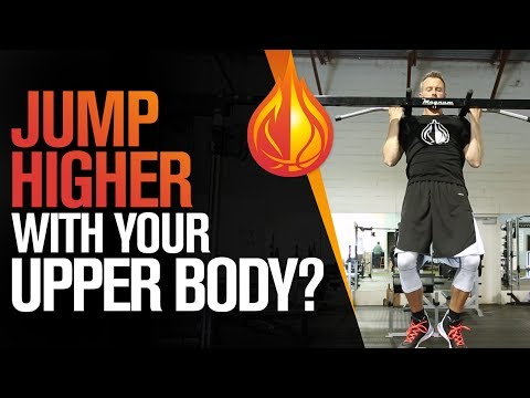 3 UPPER BODY Exercises That Make You JUMP HIGHER with Coach Alan Stein