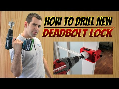 How to Install A Deadbolt Lock - How to Install a New Door Lock In 5 Simple Steps