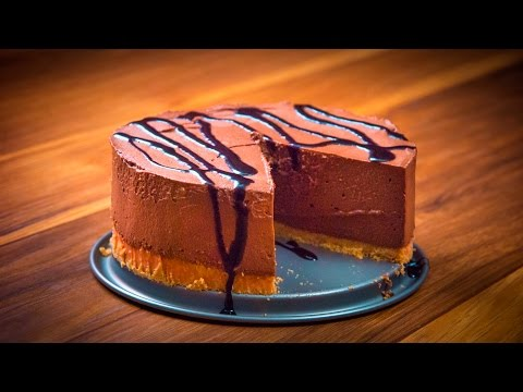 How to make No-Bake Chocolate Mascarpone Cheesecake