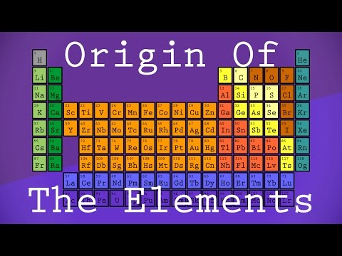 How Were The Elements Made?