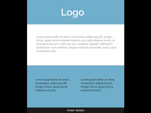 easy format for creating responsive email template HTML coding