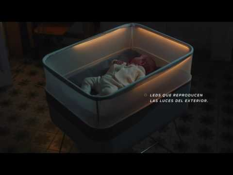 Ford makes baby crib that mimics car ride to help babies sleep