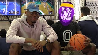 """Are You Going To Let Lonzo Shoot!?"" It Gets REAL HEATED Between ""LeBron James"" & Francis Okoro"