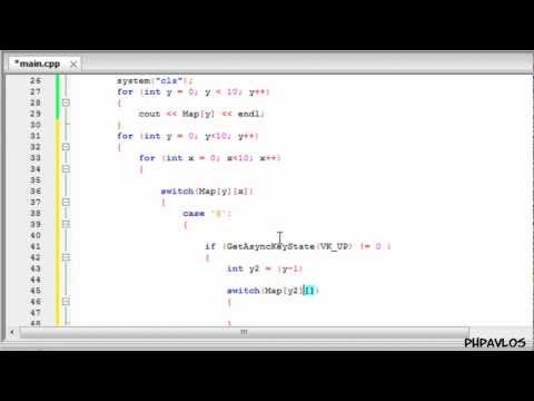 How To Create A RPG Game In C++ (1/2)