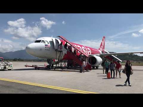 Air Asia Airbus A320 - Singapore to Langkawi, Malaysia