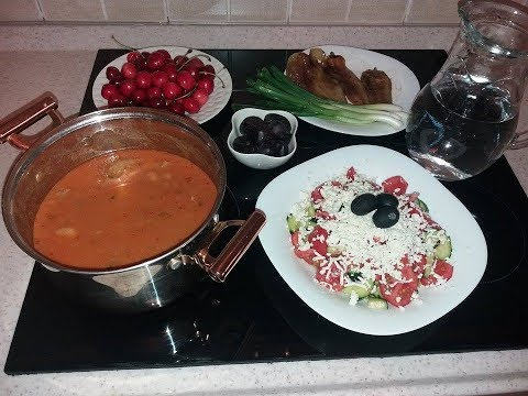 Pasul me mish [ Beans stew with meat recipe ]