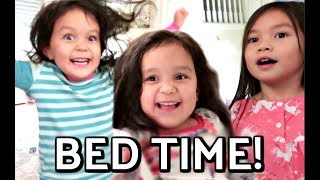 OUR NEW BED TIME ROUTINE! -  ItsJudysLife Vlogs
