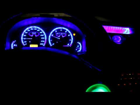 ~ Worlds First  Colour Changing LED Interior ~ G35 Sedan -in progress-